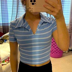 Cropped shirt size xs
